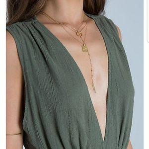 BILLABONG Button up maxi dress NWOT